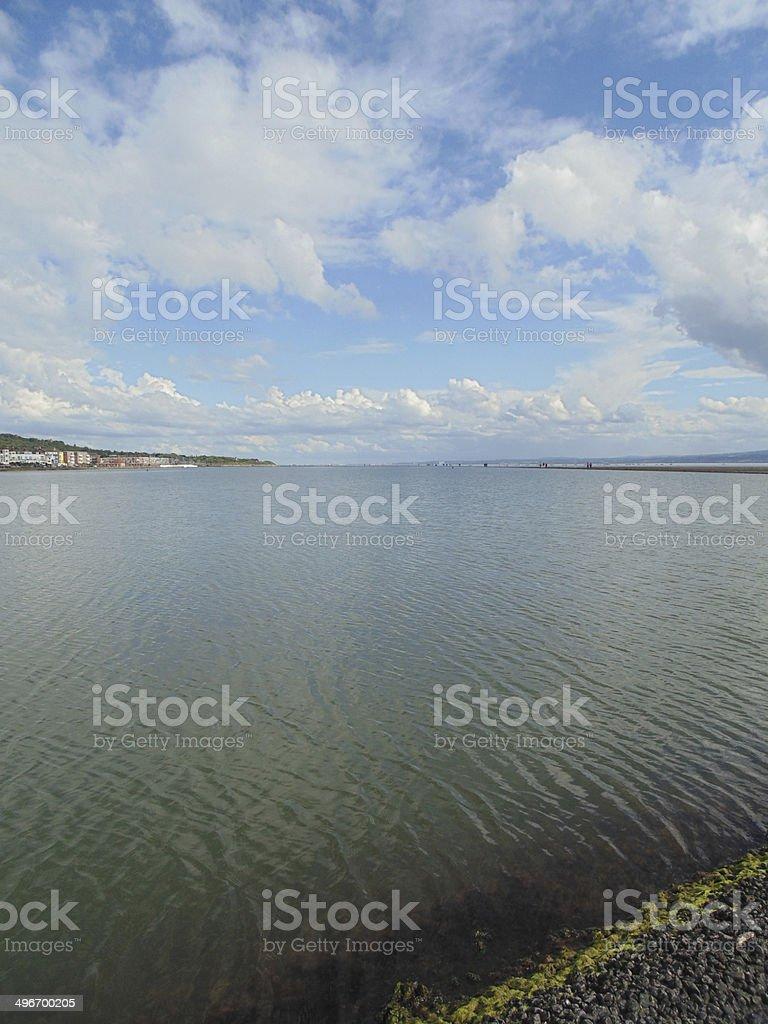 Marine lake royalty-free stock photo