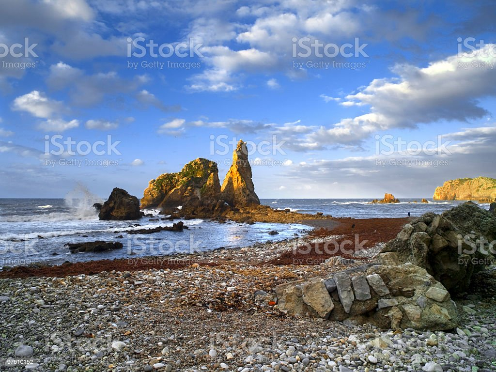 Marine Landscape royalty-free stock photo