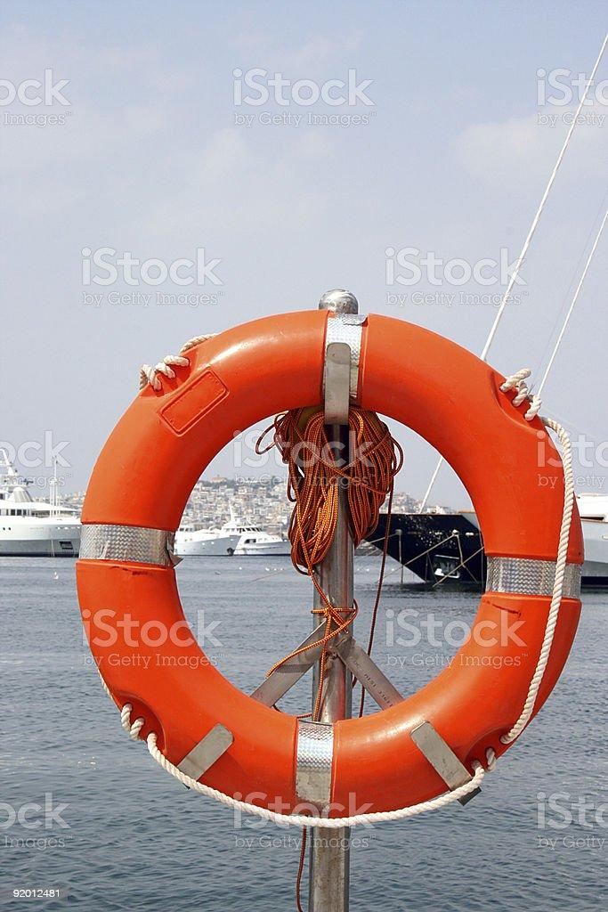 marine life buoy royalty-free stock photo