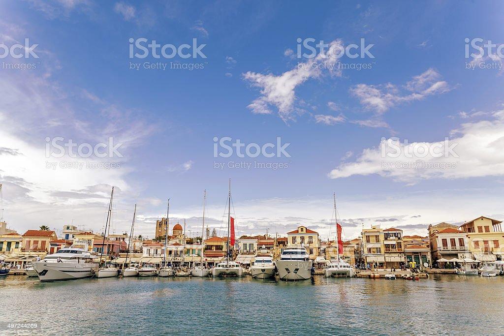 Marine of Aegina Island stock photo