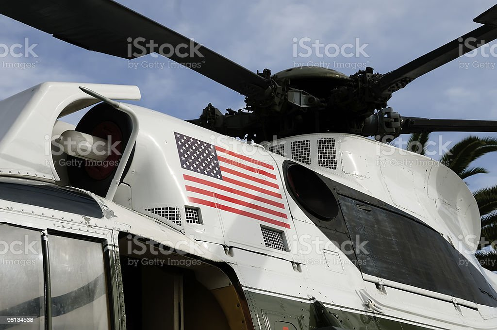 Marine One Helicopter royalty-free stock photo