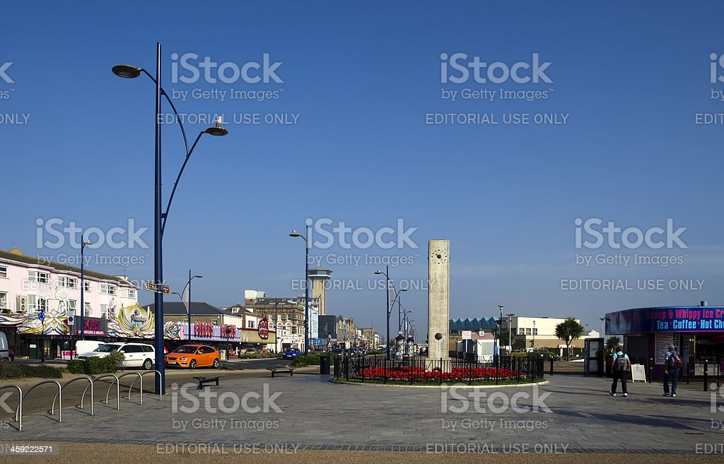 Marine Parade, Great Yarmouth stock photo