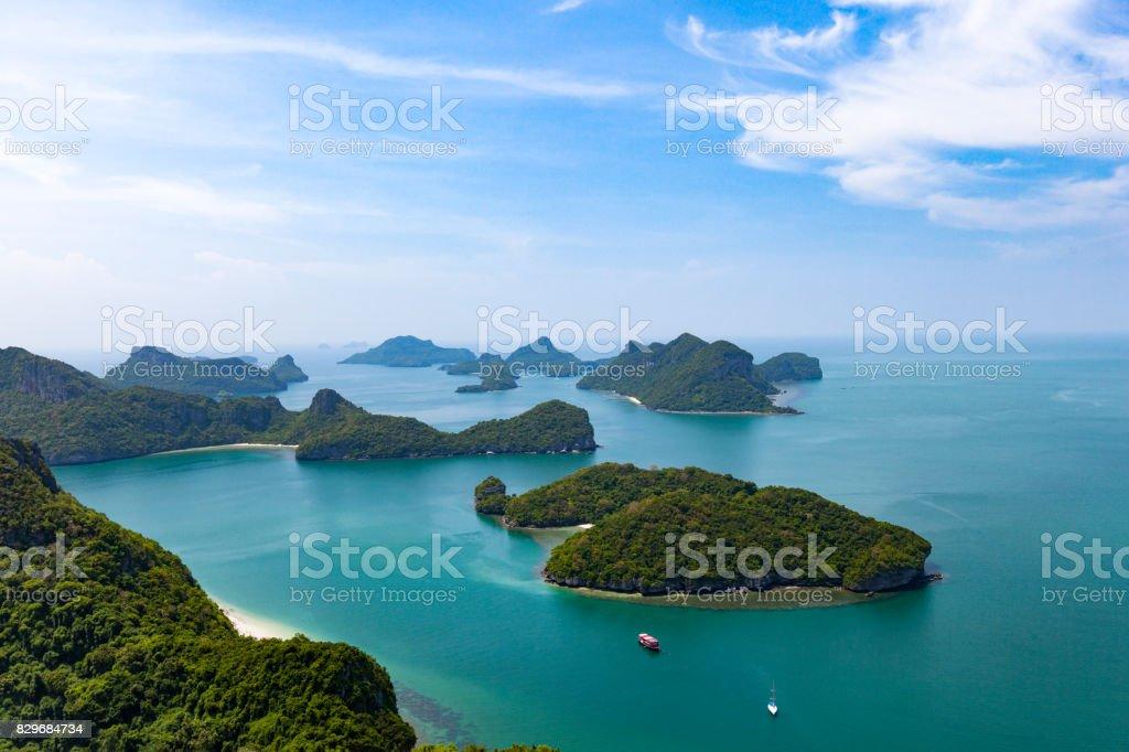 marine park, koh samui, thailand stock photo
