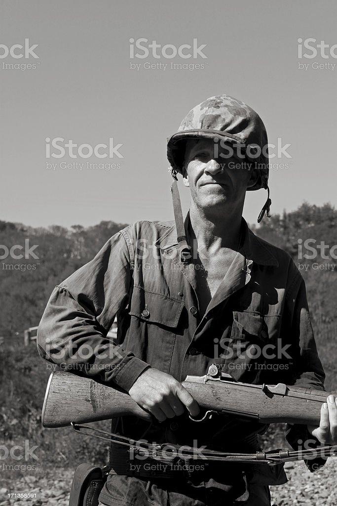 US Marine. stock photo