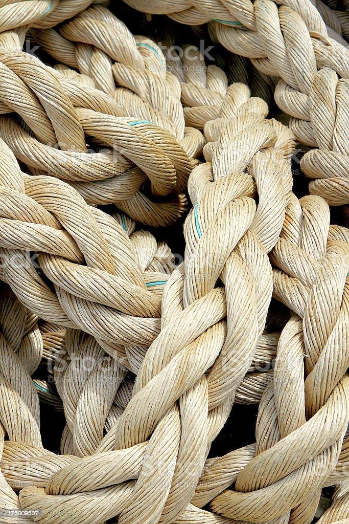 Marine rope background royalty-free stock photo