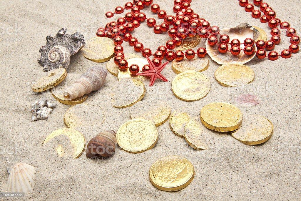 marine treasures royalty-free stock photo