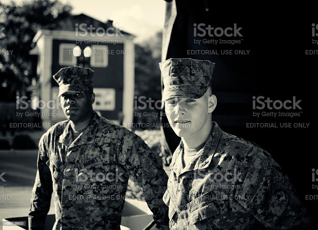 Marines stock photo