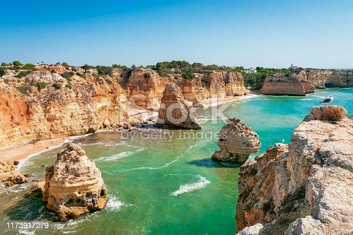 Marinha beach, Algarve Portugal.