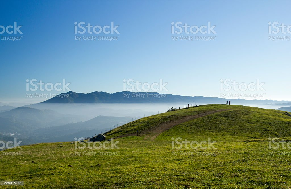 Marinwood Hills stock photo