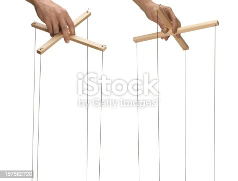 Marionette control bar,with clipping path