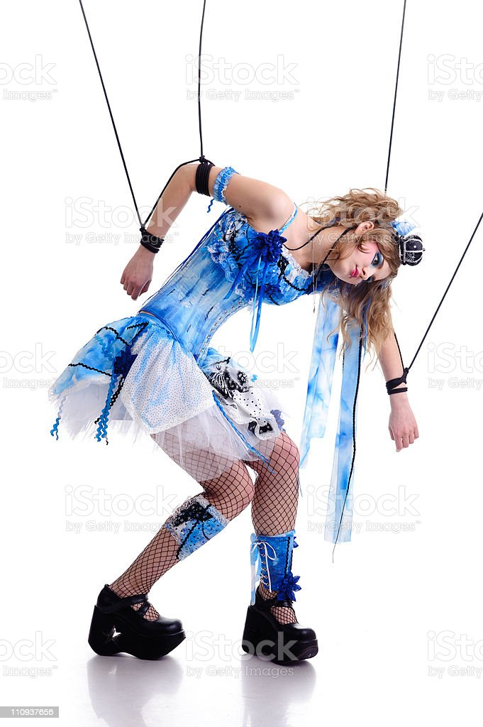 marionette royalty-free stock photo