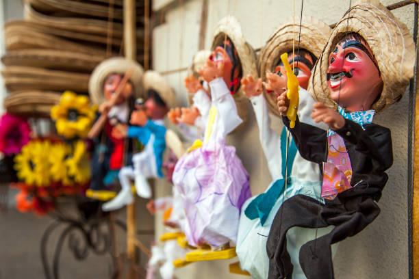 marionetten in san antonio texas vereinigte staaten von amerika - kasperltheater stock-fotos und bilder