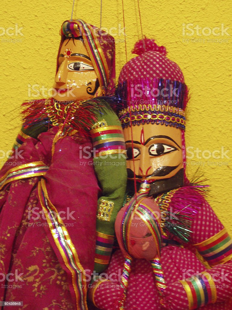 marionettes royalty-free stock photo