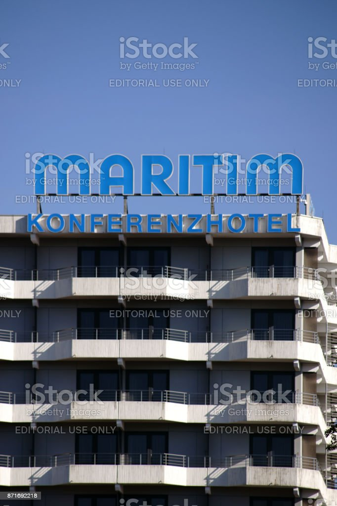 Maritim Conference Hotel Darmstadt stock photo