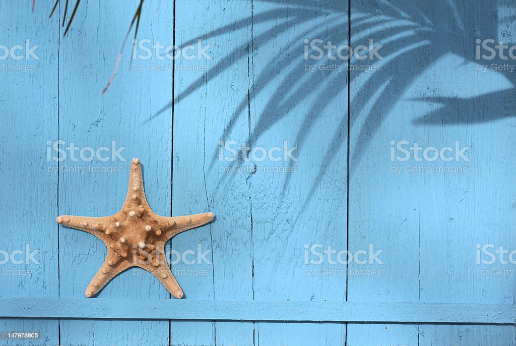 Maritime decorations stock photo