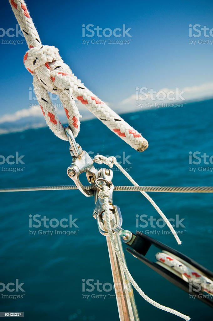 Maritime Knot royalty-free stock photo