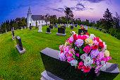 Cemetery in Prince Edward Island, Canada