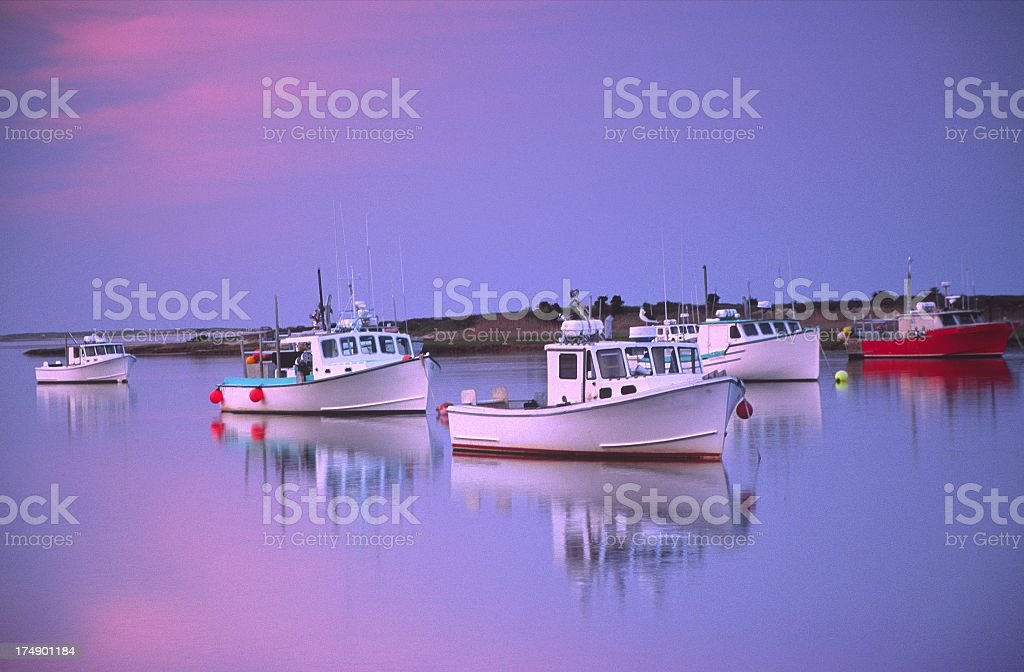 Maritime Reflections stock photo