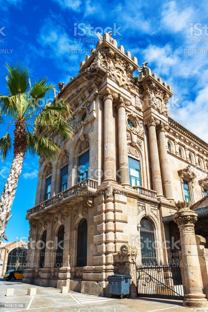 Maritime Sea Museum of Barcelona stock photo