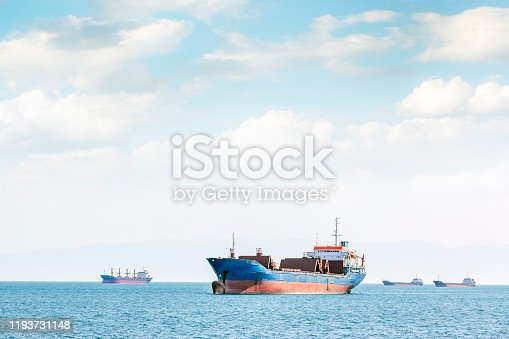 Maritime transport for cargo (goods) and cargo ships. A bulk carrier, bulk freighter, or colloquially, bulker is a merchant ship specially designed to transport unpackaged bulk cargo, such as grains,