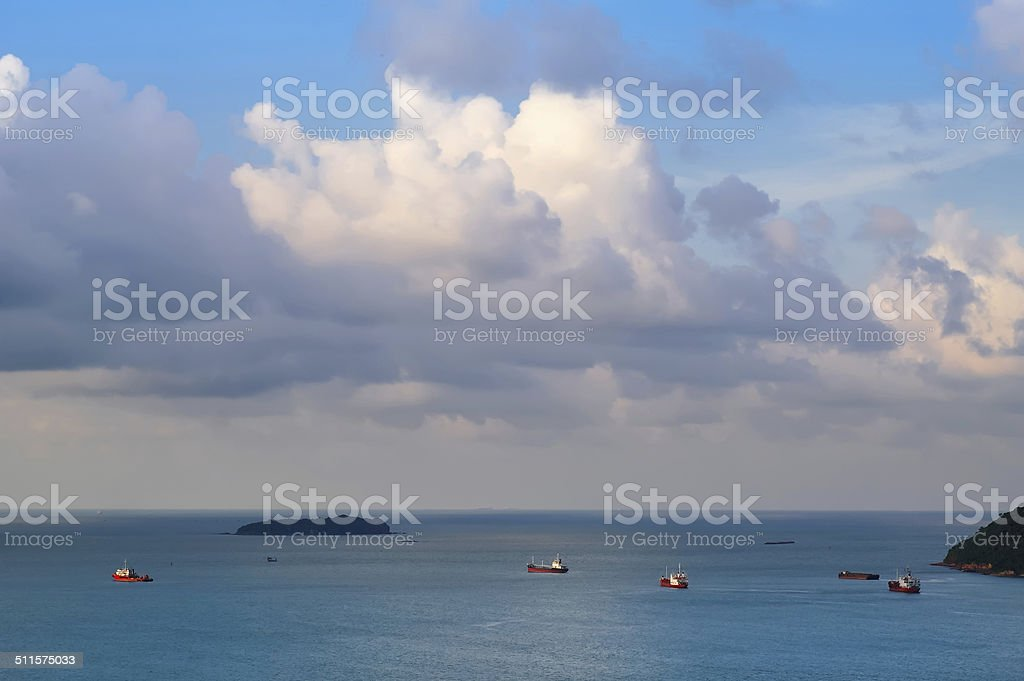 Maritime transport stock photo