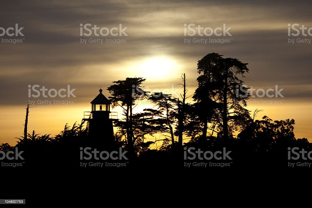 Mark Abbott Memorial Lighthouse Stock Photo - Download Image