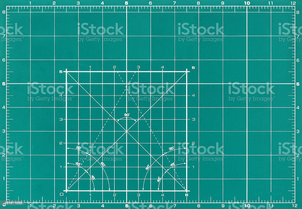 Marker board to perform design work, close-up stock photo