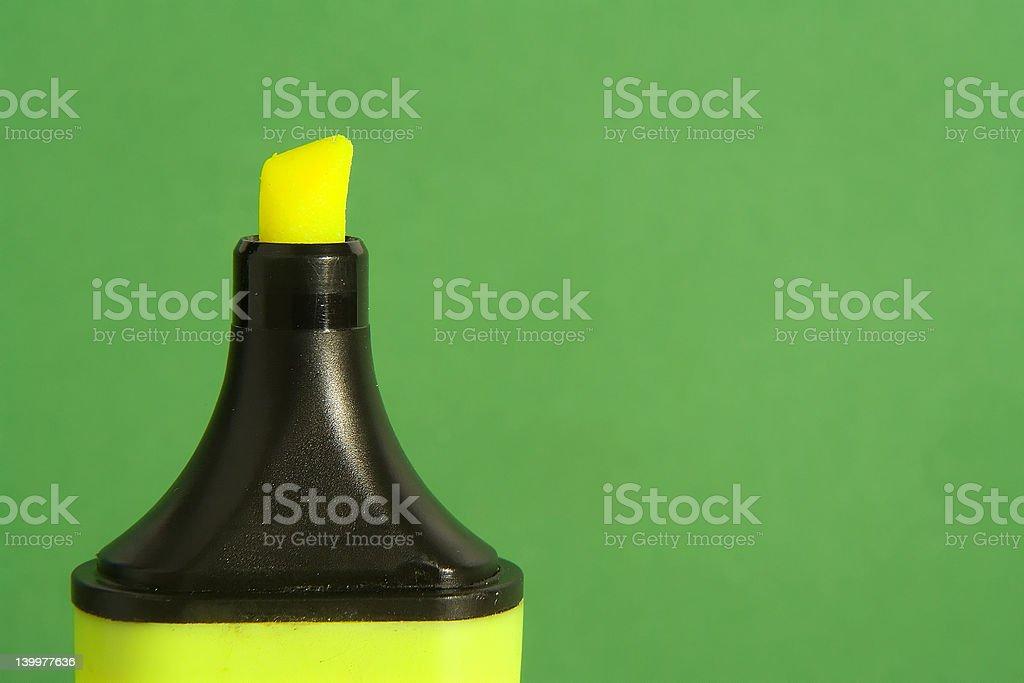 Marker stock photo
