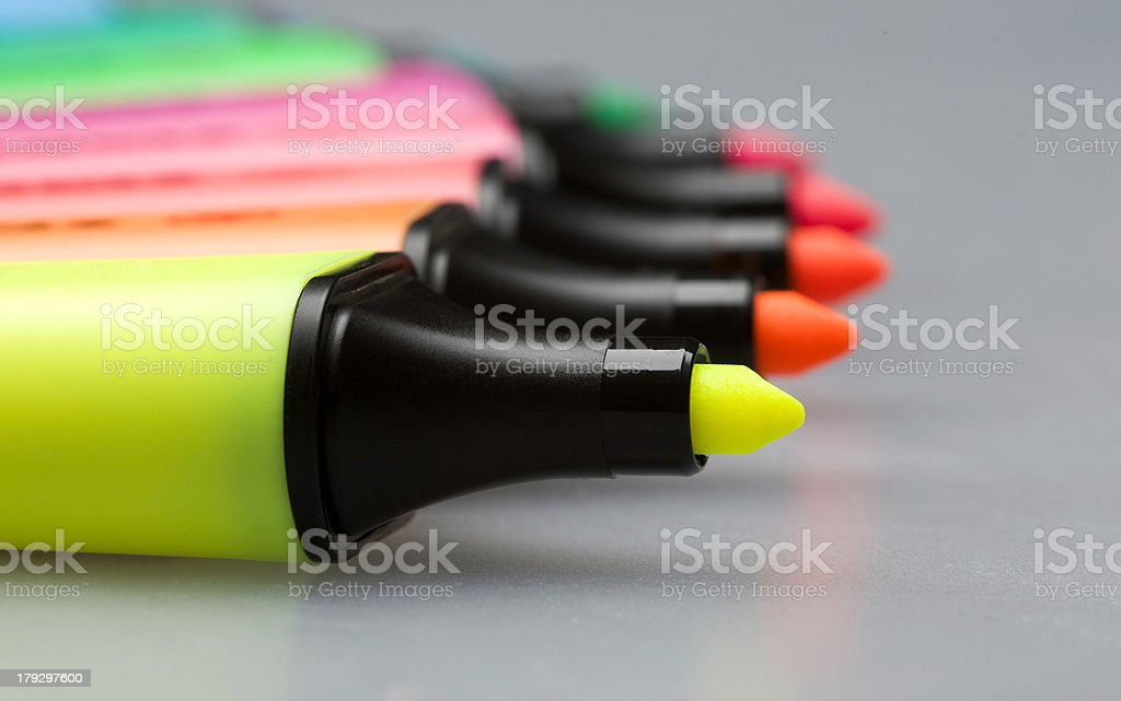 Markers royalty-free stock photo
