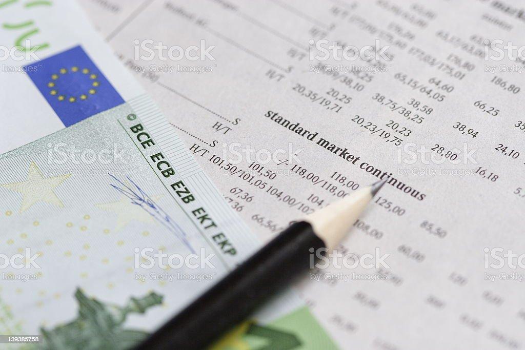 Market analysis royalty-free stock photo