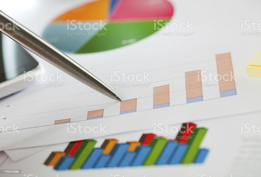 Market Analysis royalty-free stock photo