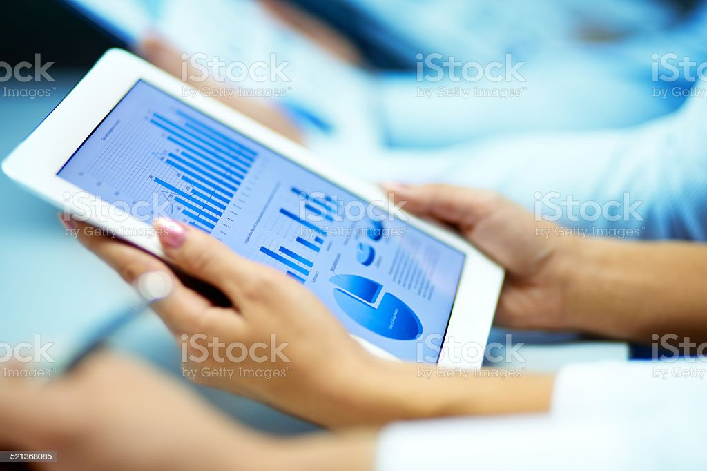 Markt-Analyse Lizenzfreies stock-foto
