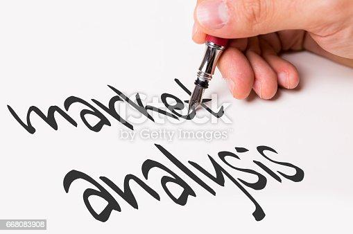 istock Market Analysis 668083908