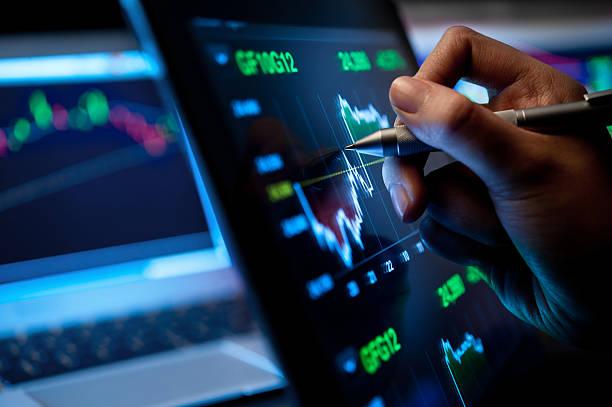 mercado analizar - stock market fotografías e imágenes de stock