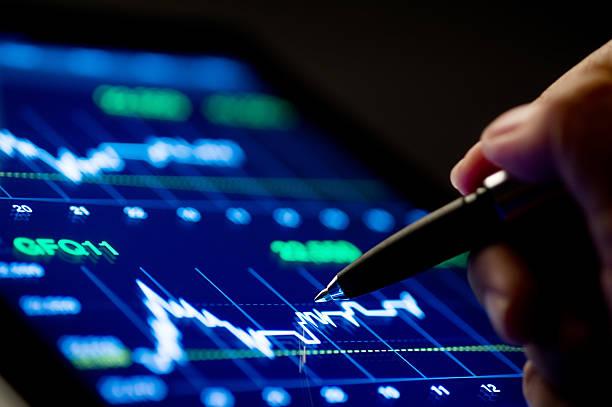 Markt zu analysieren – Foto