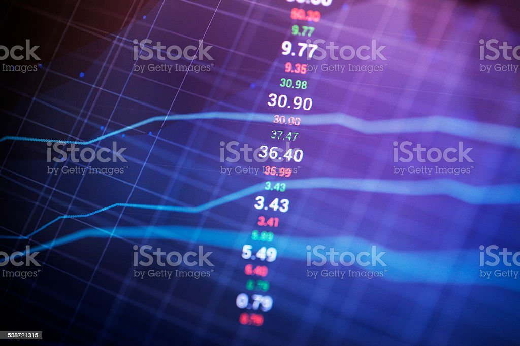 Market Analyze. stock photo