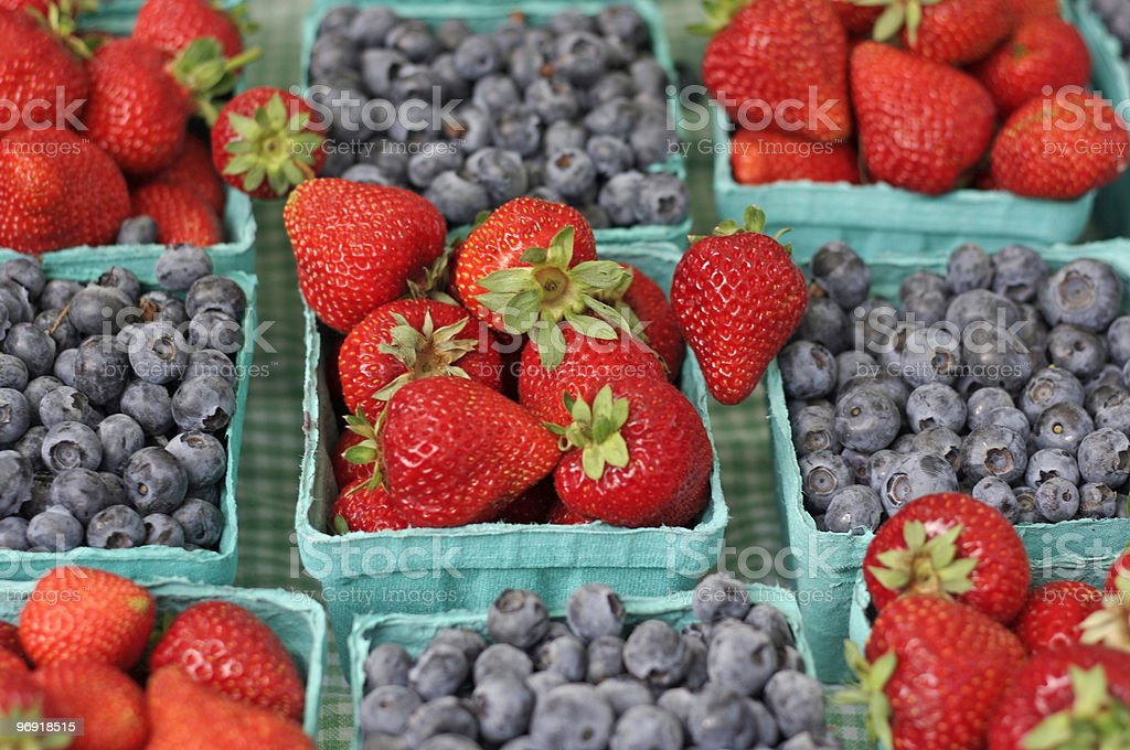 Market Berries royalty-free stock photo