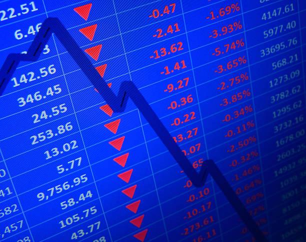 markt -unfälle - börsencrash stock-fotos und bilder