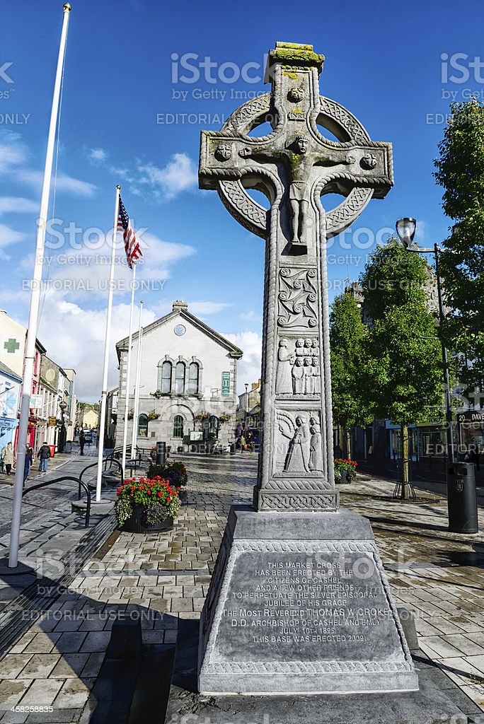 Market Cross in Cashel, Tipperary, Ireland stock photo