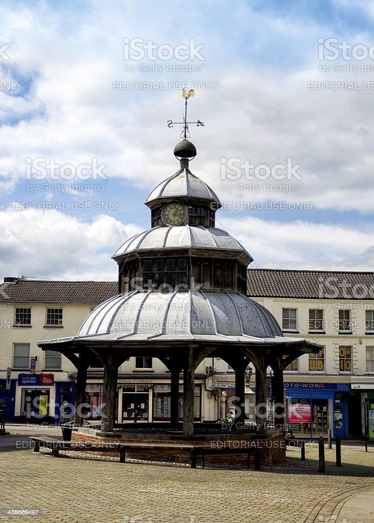 Market cross, North Walsham, Norfolk stock photo
