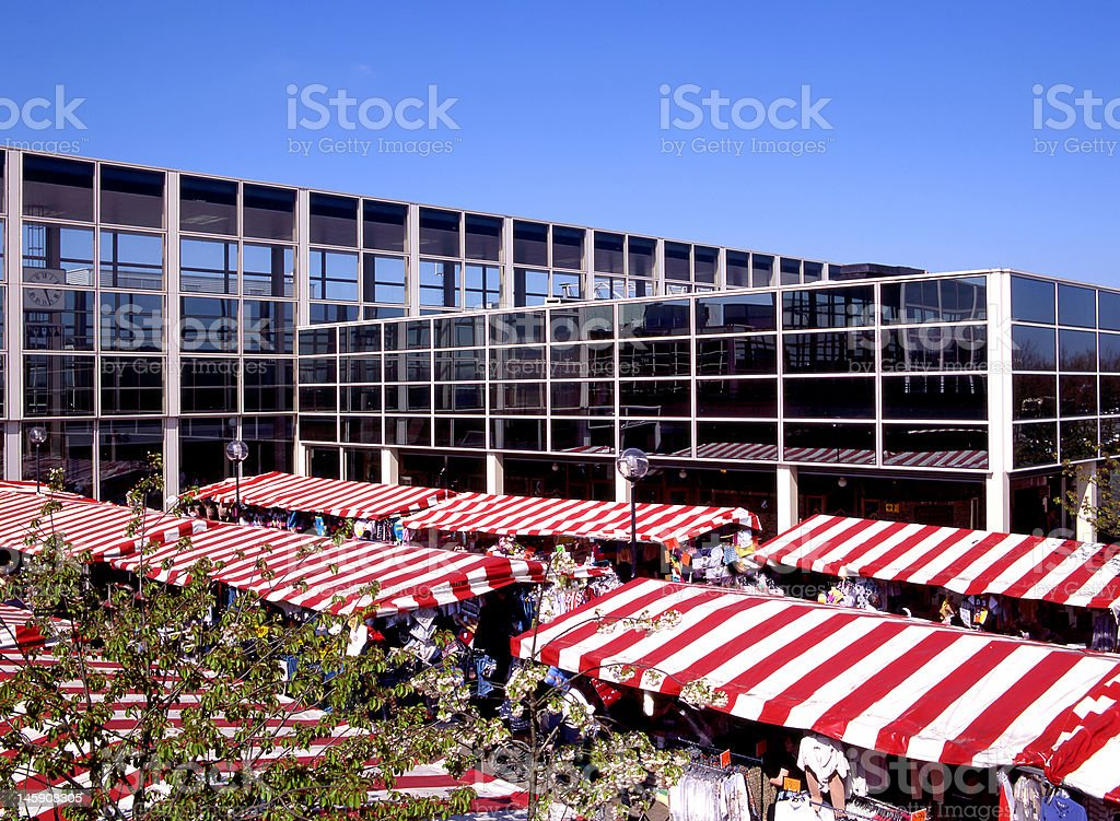 Market Day royalty-free stock photo