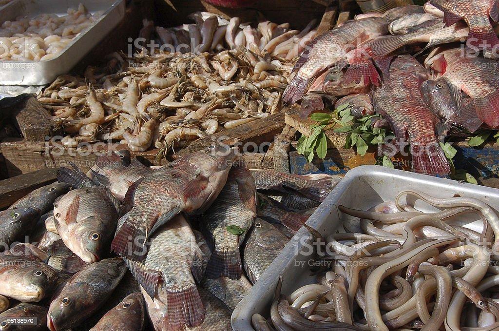 Market Fish royalty-free stock photo
