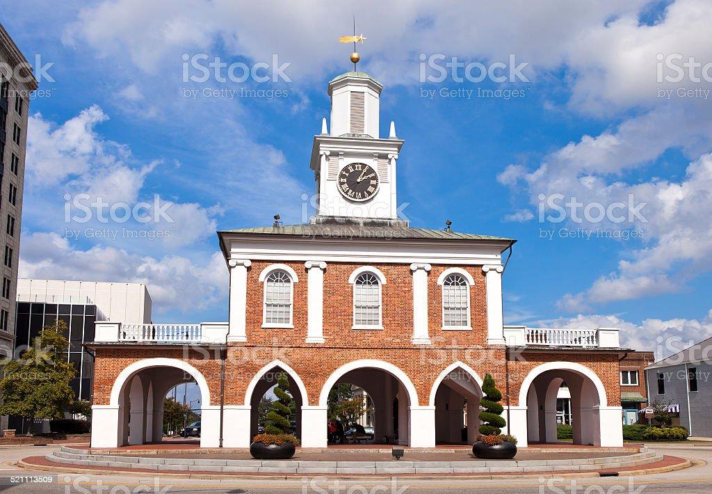 Market House From Fayetteville North Carolina Stock Photo