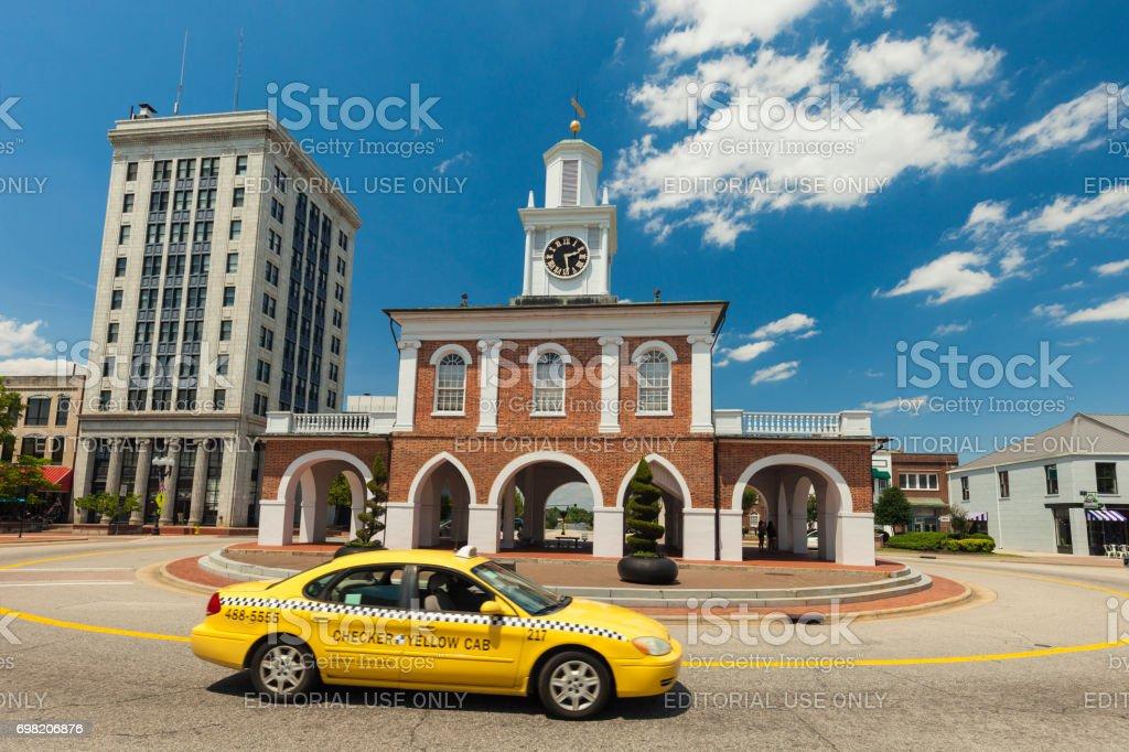 Market House In Fayetteville North Carolina Stock Photo