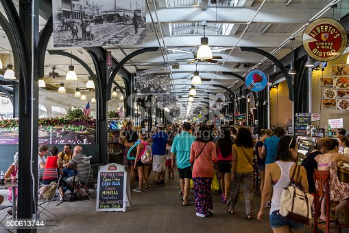 Fresh Market in New Orleans at daytime