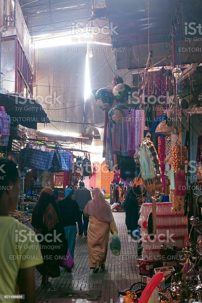 Market in the city of Taroudant,Morocco,North Africa photo libre de droits