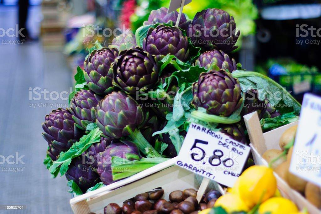 Market, Modena stock photo