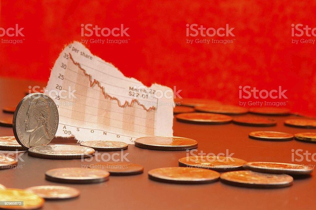Market money royalty-free stock photo