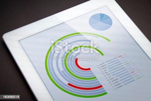istock Market monthly analysis 180686518