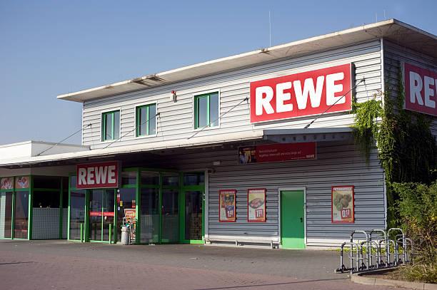 rewe markt - rewe germany stock-fotos und bilder